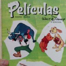 Tebeos: LIBRO PELICULAS EDITORIAL JOVIAL TOMO N VI. Lote 52939750