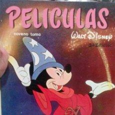 Tebeos: LIBRO PELICULAS WALT DISNEY EDITORIAL JOVIAL Nº IX. Lote 52940044