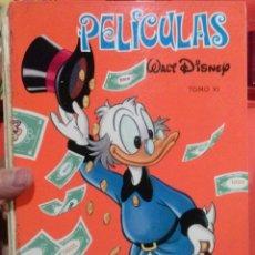 Tebeos: LIBRO PELICULAS WALT DISNEY TOMO Nº XI. Lote 52940757