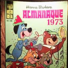 Tebeos: ALMANAQUE 1973 DE LA COLECC. TELE-HISTORIETA. Lote 53046483