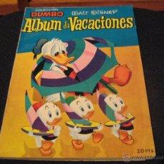 Tebeos: DUMBO - ALBUM DE VACACIONES 1957 - ERSA - WALT DISNEY. Lote 53146700