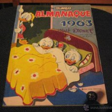 Tebeos: DUMBO - ALMANAQUE 1963 - ERSA - WALT DISNEY. Lote 53147069