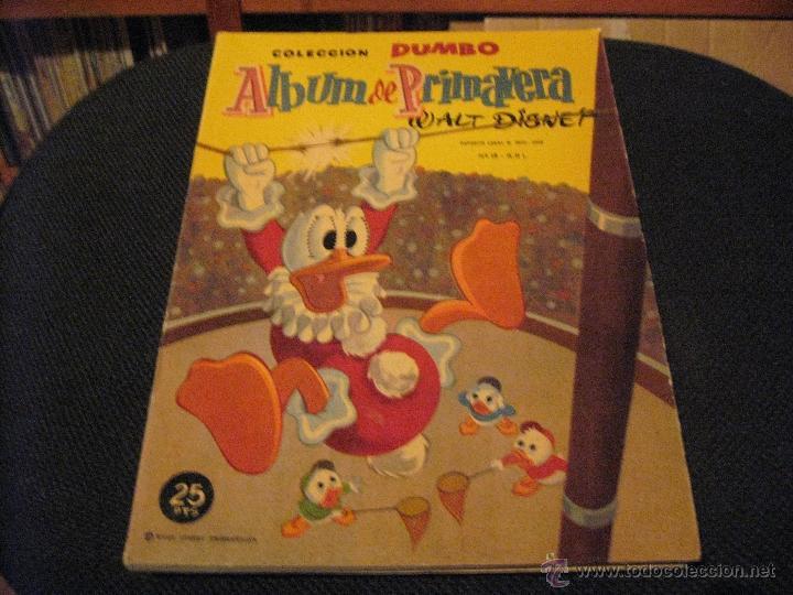 DUMBO - ALBUM DE PRIMAVERA 1960 - ERSA - WALT DISNEY (Tebeos y Comics - Ersa)