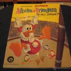 Tebeos: DUMBO - ALBUM DE PRIMAVERA 1960 - ERSA - WALT DISNEY. Lote 53147157