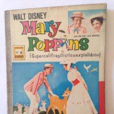 Tebeos: MARY POPPINS - COLECCIÓN DUMBO NÚM 4 - PRIMERA EDICIÓN 1973. Lote 53847960