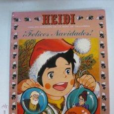 Tebeos: HEIDI. FELICES NAVIDADES. Nº 16. ERSA. 1976.. Lote 54077401