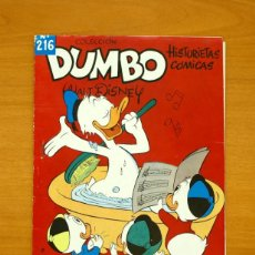 Tebeos: DUMBO Nº 216 - EDITORIAL FANTASIA / ERSA 1947. Lote 54926657