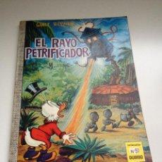 Tebeos: TEBEO COLECCION DUMBO Nº 51 EL RAYO PETRIFICADOR. AÑO 1969. EDICIONES ERSA. WALT DISNEY. Lote 55053267