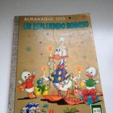Tebeos: TEBEO COLECCION DUMBO Nº 46 ALMANAQUE 1969. AÑO 1968. EDICIONES ERSA. WALT DISNEY. Lote 55053448