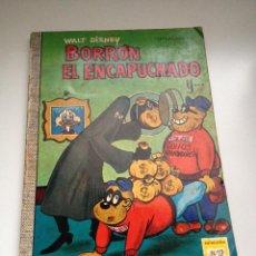 Tebeos: TEBEO COLECCION DUMBO Nº 12 BORRON EL ENCAPUCHADO. AÑO 1969. EDICIONES ERSA. WALT DISNEY. Lote 55053667