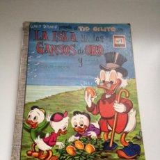 Tebeos: TEBEO COLECCION DUMBO Nº 1 LA ISLA DE LOS GANSOS DE ORO. AÑO 1969. EDICIONES ERSA. WALT DISNEY. Lote 55053791