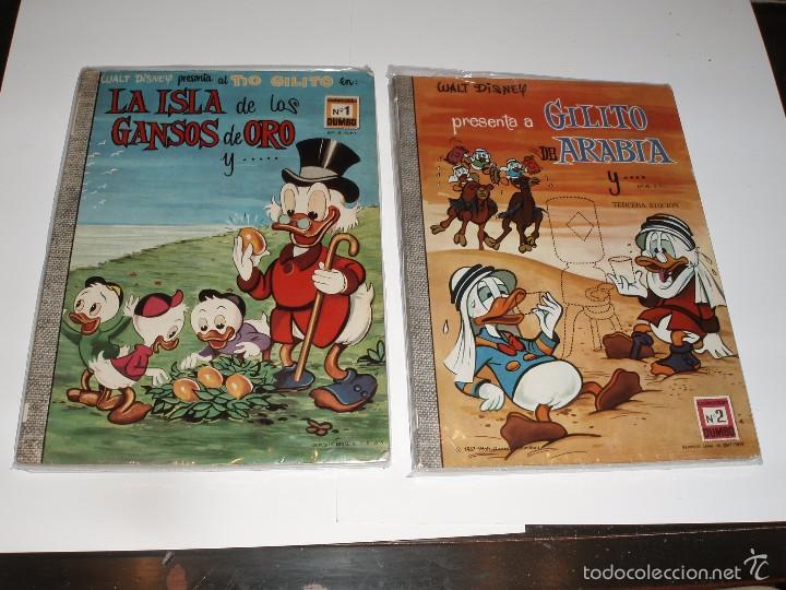 DUMBO ERSA 1 Y 2 NUMEROS ROMANOS PRIMERAS EDICIONES 1965 COMICS WALT DISNEY (Tebeos y Comics - Ersa)