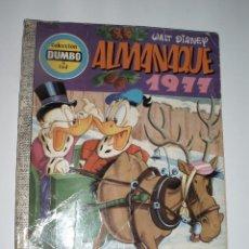 Tebeos: DUMBO 144 ALMANAQUE 1977 COMIC ERSA WALT DISNEY EL ULTIMO DE LA COLECCION. Lote 56028208