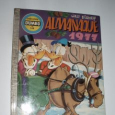 Tebeos: DUMBO 144 ALMANAQUE 1977 COMIC ERSA WALT DISNEY EL ULTIMO DE LA COLECCION. Lote 56028270