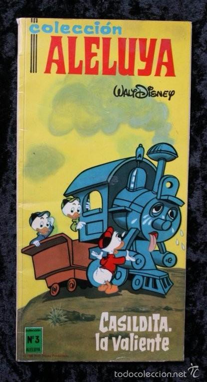 CASILDITA , LA VALIENTE - WALT DISNEY - 1968 - COLECCIÓN ALELUYA Nº 3 (Tebeos y Comics - Ersa)