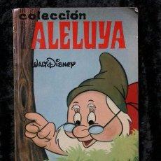 Tebeos: CUMPLEAÑOS FELIZ - 1968 - WALT DISNEY - COLECCIÓN ALELUYA Nº 4. Lote 56324177