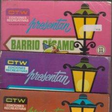 Tebeos: BARRIO SÉSAMO Nº 6,11,14 -ED. EDICIONES RECREATIVAS,. Lote 56394750
