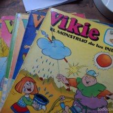 Tebeos: VIKIE Nº 13, 16, 17, 22, 23, 26, 28 Y 36, EDICIONES RECREATIVAS, 1976. Lote 56405327