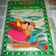 Tebeos: HEIDI N.º 3 PRODUCCIONES EDITORIALES ERSA 1978 . Lote 56507039