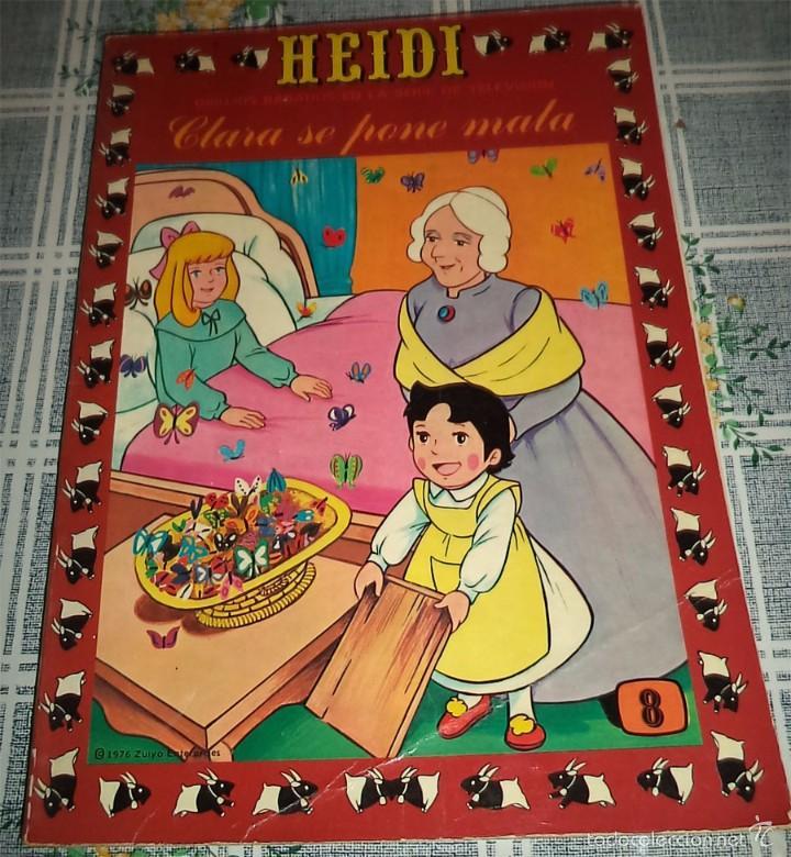 HEIDI N.º 8 PRODUCCIONES EDITORIALES ERSA 1978 (Tebeos y Comics - Ersa)