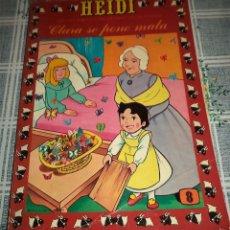 Tebeos: HEIDI N.º 8 PRODUCCIONES EDITORIALES ERSA 1978 . Lote 56507116