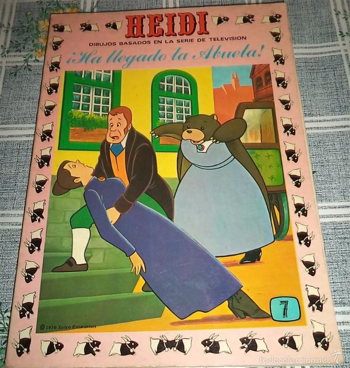 HEIDI N.º 7 PRODUCCIONES EDITORIALES ERSA 1978 (Tebeos y Comics - Ersa)