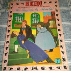 Tebeos: HEIDI N.º 7 PRODUCCIONES EDITORIALES ERSA 1978 . Lote 56507176