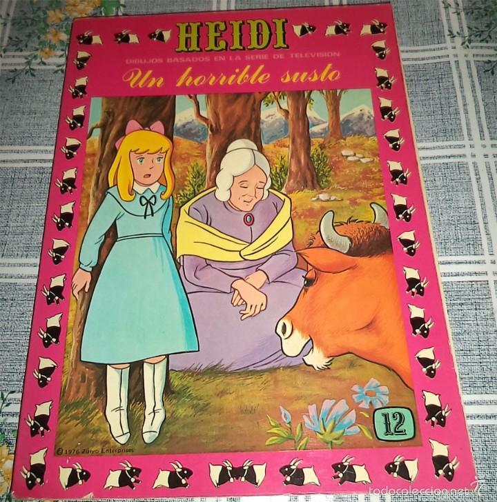 HEIDI N.º 12 PRODUCCIONES EDITORIALES ERSA 1978 (Tebeos y Comics - Ersa)