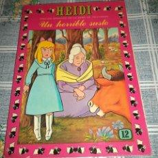 Tebeos: HEIDI N.º 12 PRODUCCIONES EDITORIALES ERSA 1978 . Lote 56507209