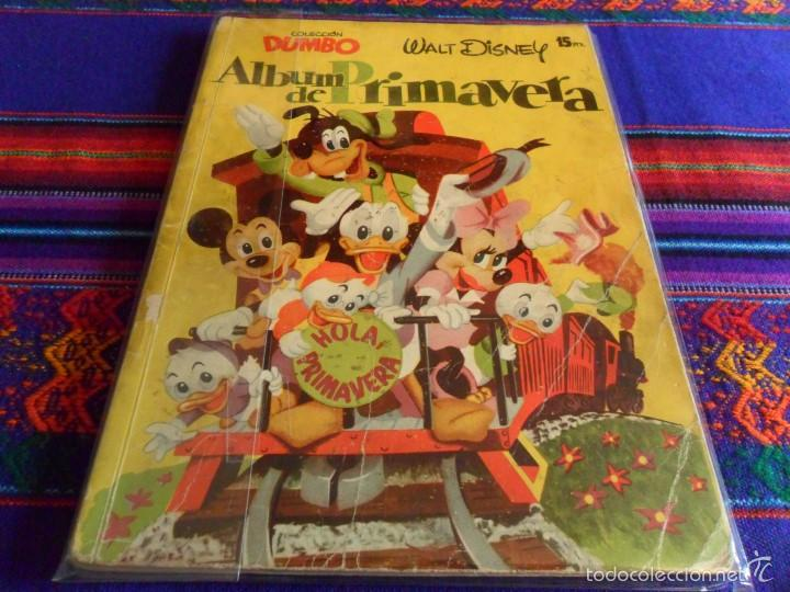 DUMBO ALBUM DE PRIMAVERA 1956 Y 1957. ERSA. WALT DISNEY. DIFÍCILES. (Tebeos y Comics - Ersa)