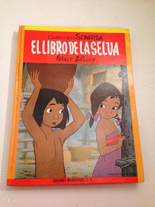 COLECCION SONRISA Nº 1. TOMO EL LIBRO DE LA SELVA. WALT DISNEY. ERSA (Tebeos y Comics - Ersa)