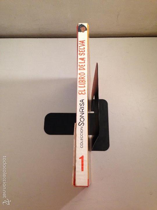 Tebeos: COLECCION SONRISA Nº 1. TOMO EL LIBRO DE LA SELVA. WALT DISNEY. ERSA - Foto 4 - 58495155