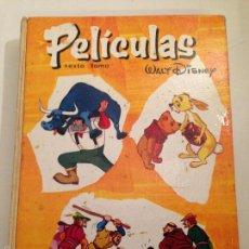 Tebeos: PELICULAS TOMO 6. COLECCION JOVIAL. ERSA. WALT DISNEY. 1967.. Lote 58501055