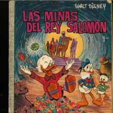 Livros de Banda Desenhada: WALT DISNEY - COL. DUMBO Nº 37 - LAS MINAS DEL REY SALOMON - ERSA 1973, 40 PTAS - BIEN CONSERVADO. Lote 217933713