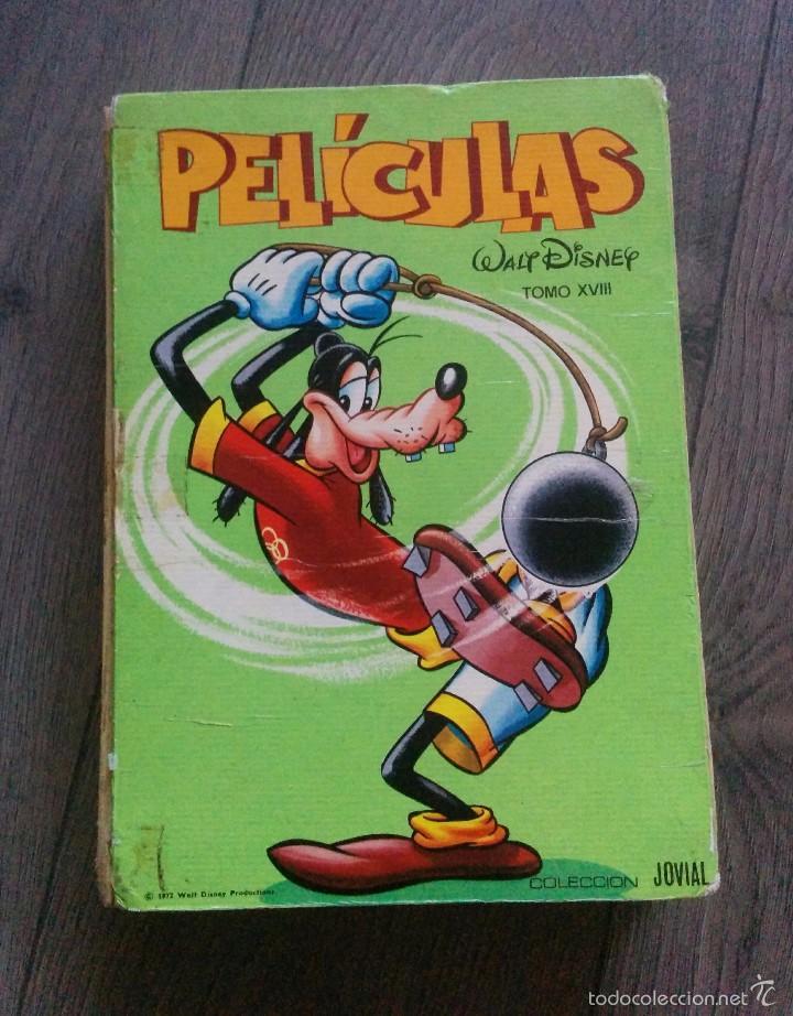 CÓMICS PELÍCULAS WALT DISNEY 1972 (Tebeos y Comics - Ersa)
