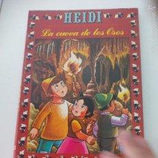 Livros de Banda Desenhada: Nº 23 LA CUEVA DE LOS OSOS. 1977. HEIDI. DIBUJOS BASADOS EN LA SERIE DE TELEVISÓN. COMIC. ZUIYO.. Lote 61351823