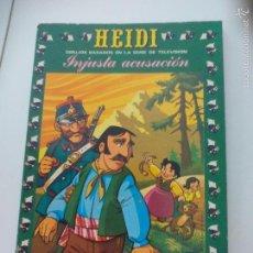 Tebeos: Nº 21 INJUSTA ACUSACIÓN. 1977. HEIDI. DIBUJOS BASADOS EN LA SERIE DE TELEVISÓN. COMIC. ZUIYO.. Lote 61351880