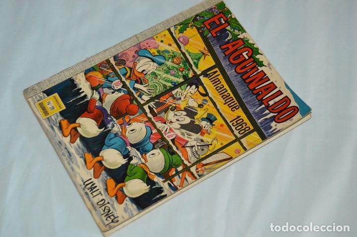 EJEMPLAR COLECCION DUMBO - ERSA - ALMANAQUE 1968 - EL AGUINALDO - MUY ANTIGUO - WALT DISNEY (Tebeos y Comics - Ersa)