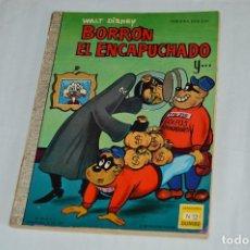 Tebeos: EJEMPLAR COLECCION DUMBO - ERSA - Nº 12 - BORRÓN EL ENCAPUCHADO - MUY ANTIGUO - WALT DISNEY. Lote 62353596
