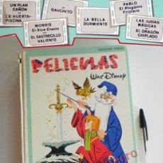 Tebeos: PELÍCULAS WALT DISNEY TERCER TOMO LIBRO CÓMIC - COLECCIÓN JOVIAL 3 ERSA AÑOS 80 MICKEY DONALD MERLÍN. Lote 188500043