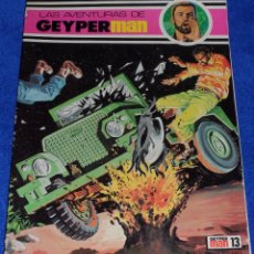 BDs: LAS AVENTURAS DE GEYPERMAN N º 13 - EDICIONES RECREATIVAS (1978). Lote 66910918