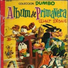 Tebeos: COLECCION DUMBO - ALBUM DE PRIMAVERA 1958 - ERSA - RARO DE VER - VER DESCRIPCION. Lote 68420877