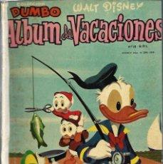 Tebeos: COLECCION DUMBO - ALBUM DE VACACIONES 1958 - ERSA - RARO DE VER - VER DESCRIPCION. Lote 68421149