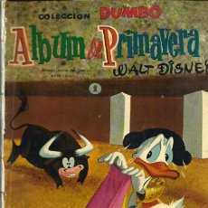 Tebeos: COLECCION DUMBO - ALBUM DE PRIMAVERA 1959 - ERSA - RARO DE VER - VER DESCRIPCION. Lote 68421625