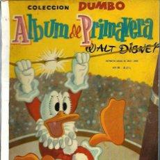 Tebeos: COLECCION DUMBO - ALBUM DE PRIMAVERA 1960 - ERSA - RARO DE VER - VER DESCRIPCION. Lote 68422141