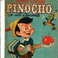 Tebeos: COLECCION DUMBO - VERSION COMPLETA DE PELICULAS - PINOCHO Y LA CENICIENTA - ERSA 1958 - UNICO EN TC. Lote 68425601