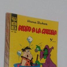 Tebeos: TELE-HISTORIEA, Nº 59. PEDRO A LA CAZUELA. HANNA-BARBERA. ERSA. Lote 71140805