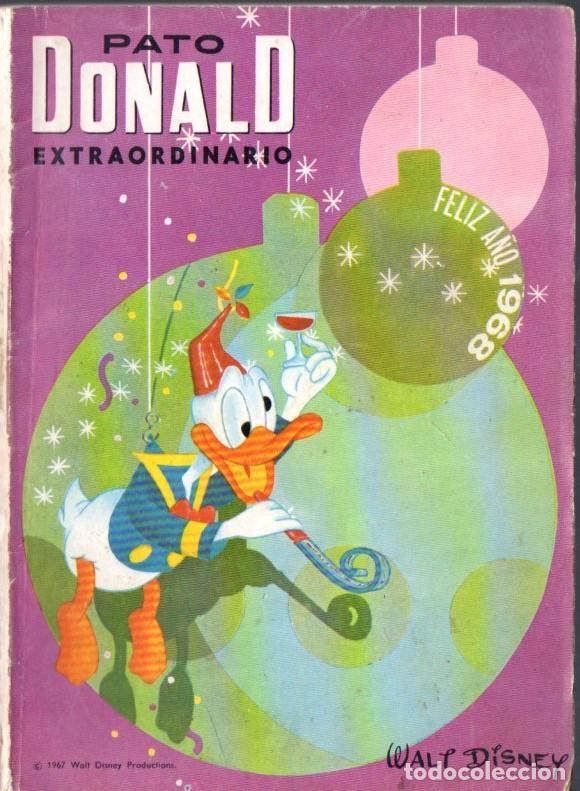 PATO DONALD EXTRAORDINARIO DICIEMBRE 1967 (Tebeos y Comics - Ersa)