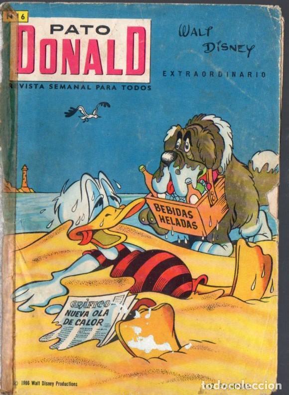 PATO DONALD EXTRAORDINARIO JULIO 1966 (Tebeos y Comics - Ersa)