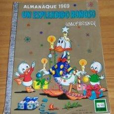 Tebeos: DUMBO 46 ALMANAQUE 1969 UN ESPLENDIDO ROÑOSO. WALT DISNEY EDICIONES RECREATIVAS ERSA. Lote 73519479